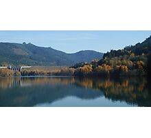 Autum at Lowell Oregon  Photographic Print