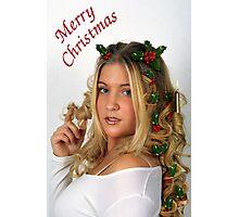 Christmas Curls Photographic Print