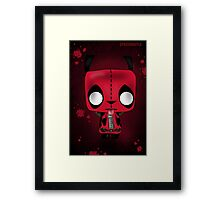 DeadPool Gir Framed Print
