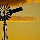 Sunset Windmill 3 by D-GaP