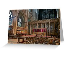 The Minster Greeting Card