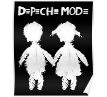 Depeche Mode : Angels Boy and Girl - 2 - White Poster