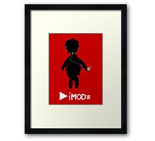 Depeche Mode : Playing The iMod Framed Print