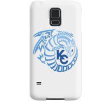Blue Eyes White Dragon - Gradient Blue Samsung Galaxy Case/Skin