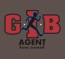 Zac Power - Agent Bum Smack One Piece - Short Sleeve