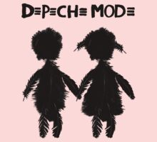 Depeche Mode : Angels Boy and Girl - 2 - Black Kids Clothes