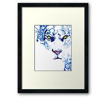 Tiger Spirit Framed Print