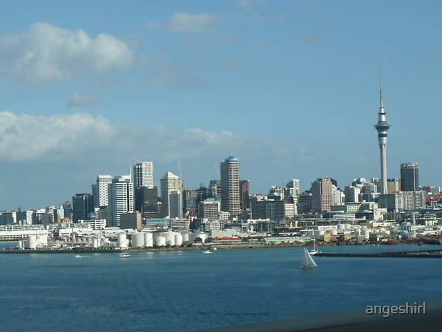 How I see Auckland by angeshirl