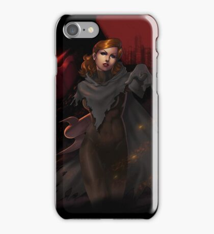 Le Phantasme -- L'Ange de la Mort iPhone Case/Skin