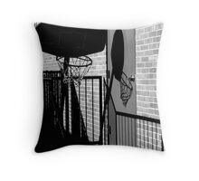 Shadow Goal Throw Pillow