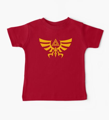 Triskele Triforce - Crest of Hyrule - Legend of Zelda Baby Tee