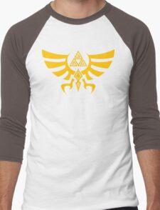 Triskele Triforce - Crest of Hyrule - Legend of Zelda Men's Baseball ¾ T-Shirt