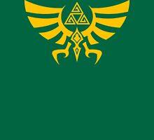 Triskele Triforce - Crest of Hyrule - Legend of Zelda T-Shirt