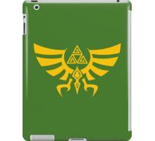 Triskele Triforce - Crest of Hyrule - Legend of Zelda iPad Case/Skin
