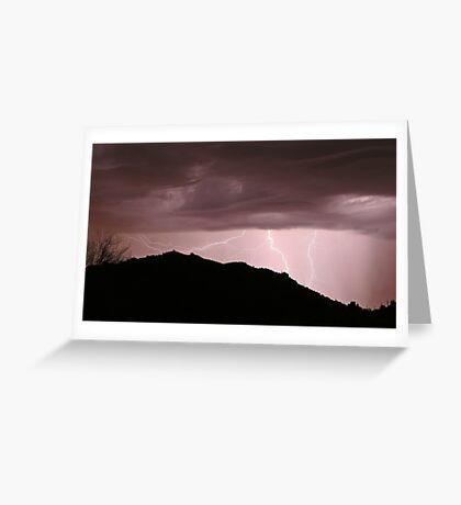 Desert Strikes Greeting Card
