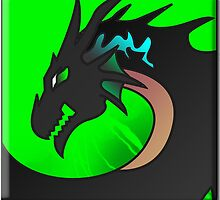 Morrogh the Dragon Necromancer by DragonroseWorks