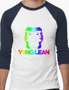 Yung Lean Baby RAINBOW EDITION ☺ Men's Baseball ¾ T-Shirt