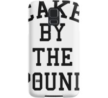 Cake By The Pound [Black] Samsung Galaxy Case/Skin