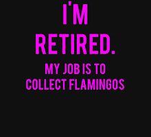 Funny Lawn Flamingo Retirement T-Shirt