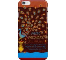 Paisley Peacock Pride and Prejudice: Fall Modern iPhone Case/Skin