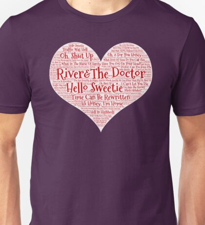 The Doctor&River Quotes Unisex T-Shirt