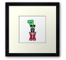 Munki Framed Print
