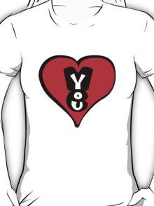love you love me T-Shirt