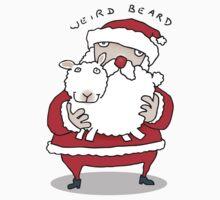 Weird Beard (baa humbug!) Kids Tee