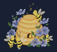 Bee Dance by SpiceTree