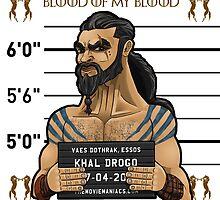 Khal Drogo - Line Up by TheMovieManiacs