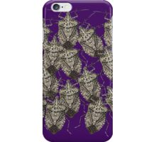 Beautiful Bedazzled Stink Bugs iPhone Case/Skin