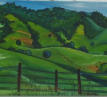 Mt Mee hills  by louise lawrence