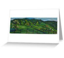Mt Mee hills  Greeting Card