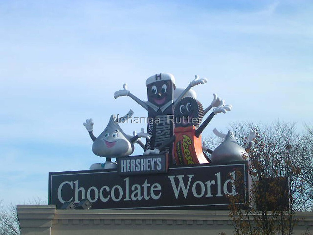 Chocolate world by Johanna  Rutter