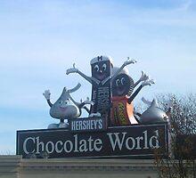 Chocolate world by Johanna  Rutter