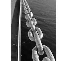 Chains Photographic Print