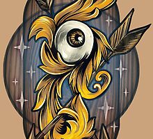 Filigree Eye  by retkikosmos