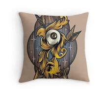 Filigree Eye  Throw Pillow