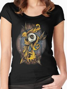 Filigree Eye  Women's Fitted Scoop T-Shirt