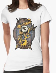 Filigree Eye  Womens Fitted T-Shirt