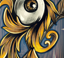 Filigree Eye  Sticker