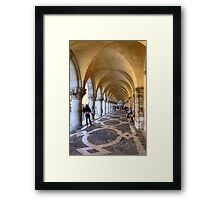 Doge's Palace Colannade Framed Print