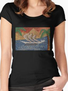 The Nile Women's Fitted Scoop T-Shirt