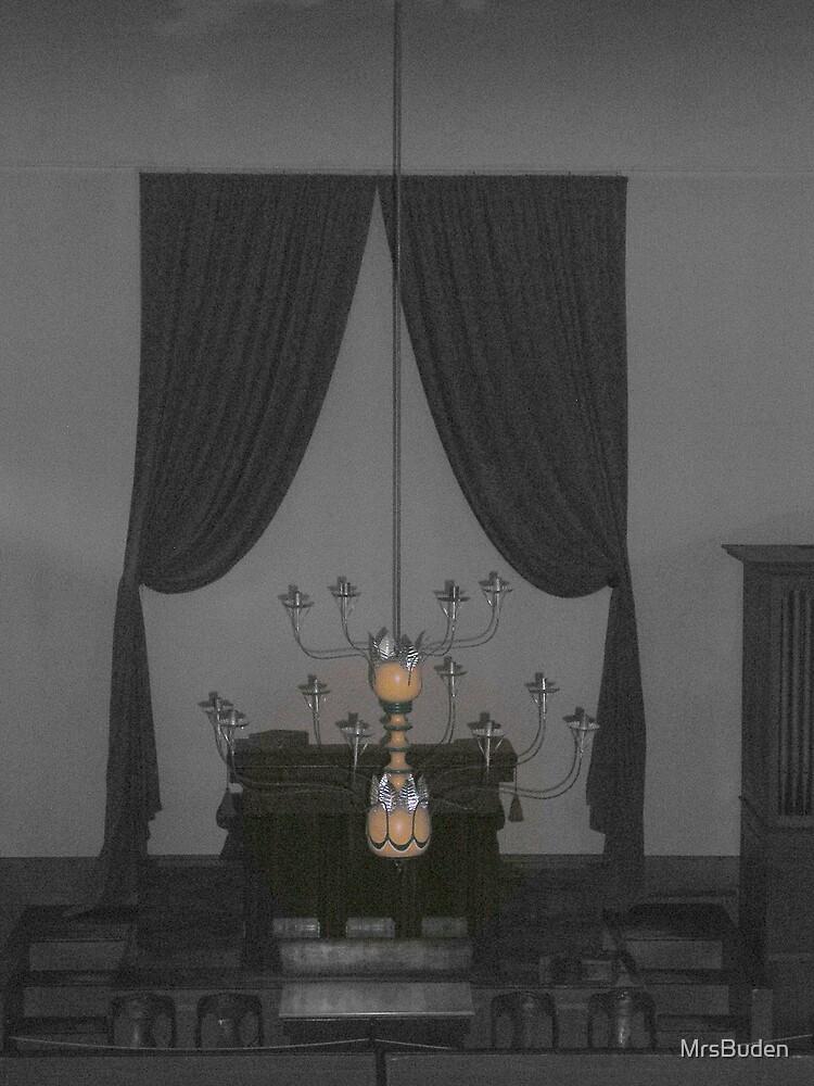 Old Chandelier_selective color by MrsBuden