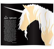 The Last Unicorn (Inspired Design) Poster