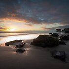 Dusk Maori Bay  by earlcooknz