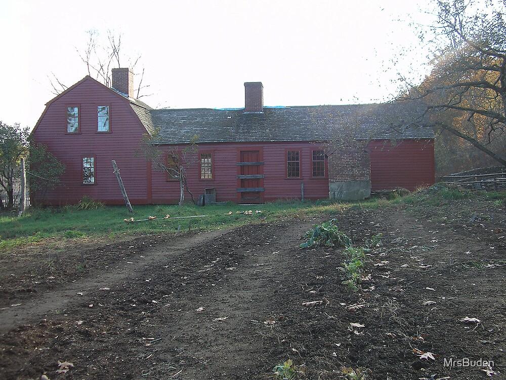 Red Barn by MrsBuden