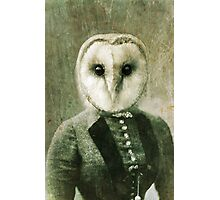Owlberta the Barn Owl Photographic Print