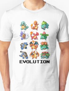 Pokemon Evolution T-Shirt