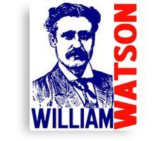 William Watson Canvas Print